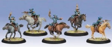 Cygnar Tempest Blazers Light Cavalry Unit Box (plastic)